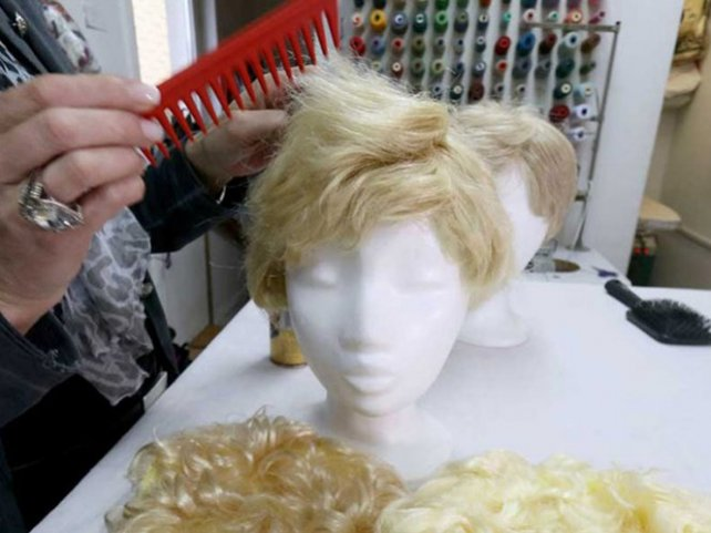 Las pelucas rubias, el gran éxito de la celebración de los carnavales.