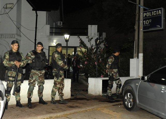 La comisaría 10 había sido allanada por el atentado.