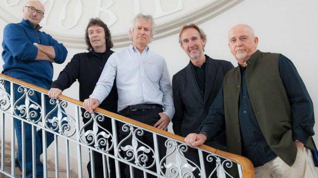 La famosa banda inglesa versión 2014  con su formación más clásica.