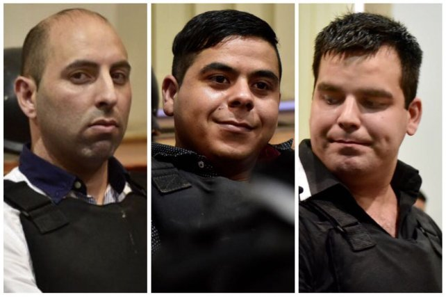 Luis Bassi, Maximiliano Salazar y Milton Damario, absuletos por el crimen de Claudio