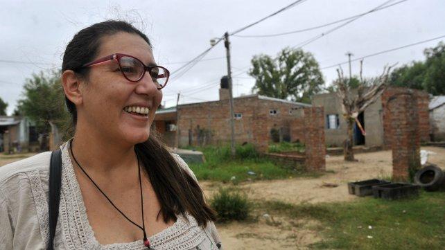 Melisa Stehli, trabajadora social de Santa Rosa de Calchines.