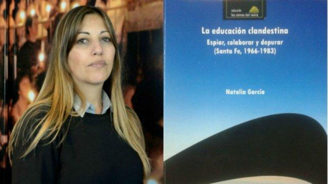 El libro de Natalia García se presenta en el Museo de la Memoria (Córdoba 2019).