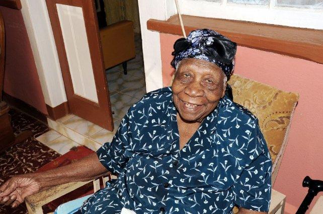 La jamaiquina Violet Brown es ahora la nueva decana de la humanidad.