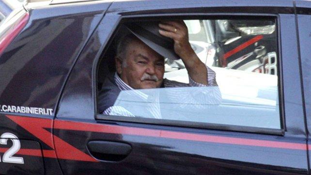 Uno de los detenidos por pertenecer a la Ndrangheta.