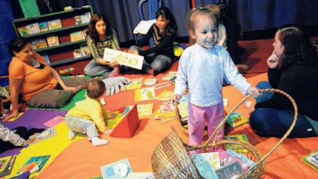 En 2014, cuando se abrió el rincón de lectura para la primera infancia.