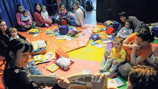 La bebeteca de la Cachilo se organiza en encuentros semanales