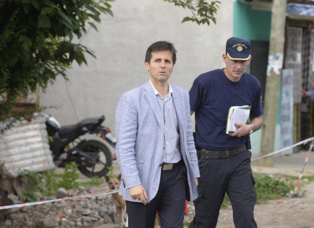 El fiscal Schiappa Pietra, a cargo de la investigación.