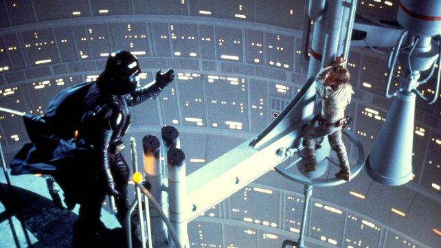 Padre e hijo. Una de las escenas más recordadas de la saga.