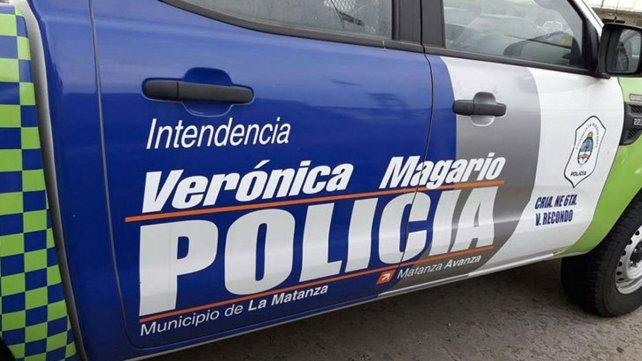 Los patrulleros de La Matanza, con el nombre de la intendenta Verónica Magario.