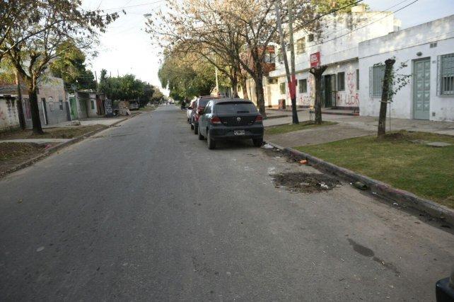 El asesinato fue alrededor de la 1.40 de la madrugada en Biedma y Balcarce.