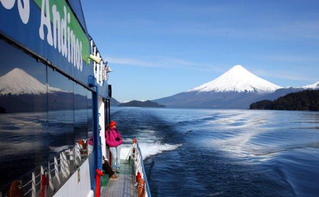 Llegar a Chile a través de los lagos del sur es una experiencia que no se olvidará de por vida.