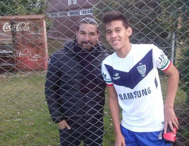 Nazareno es sobrino de Daniel Bazán Vera, histórico goleador del fútbol de ascenso.