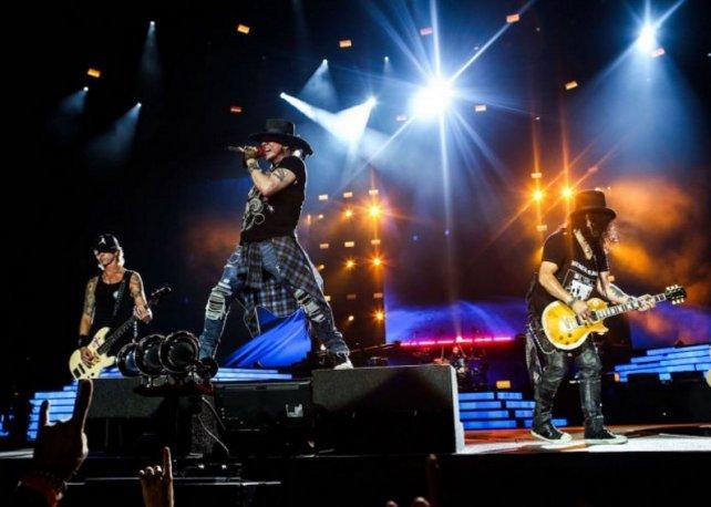La banda liderada por Axl Roses y Slash vuelve a la Argentina a casi un año de su última presentación en el país.