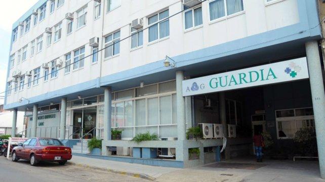 El sanatorio Garat de Concordia.