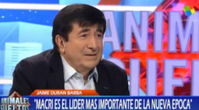 Jaime Durán Barba, asesor ecuatoriano del presidente Mauricio Macri