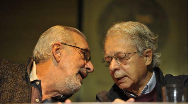 Atilio Borón y Frei Betto hablaron sobre los desafíos del centenario de la Reforma del 18.