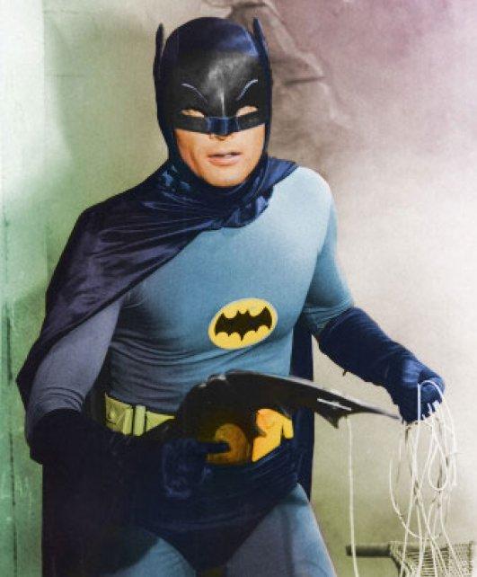 Murió Adam West, el legendario Batman de la TV estadounidense