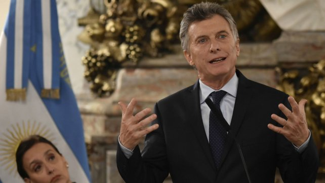 """Macri apuntó contra """"la industria de jucios laborales"""""""