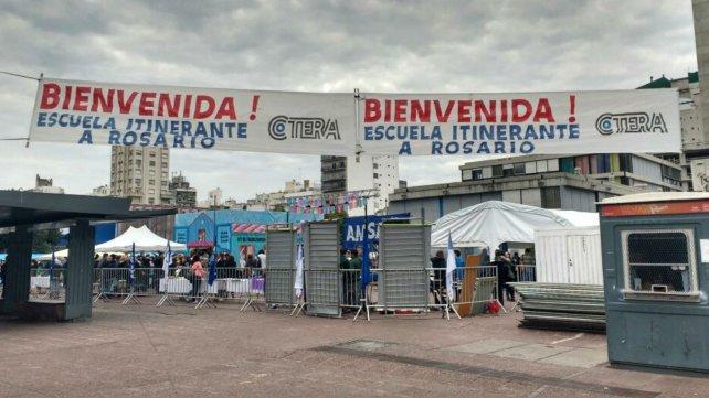 La Escuela Pública Itinerante llegó a Rosario