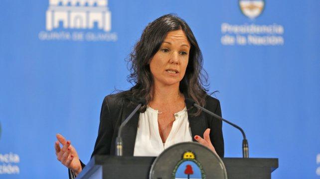 Carolina Stanley, ministra de Desarrollo Social de la Nación.