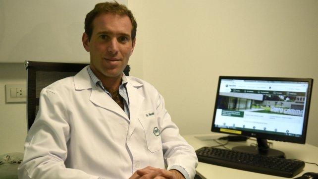 Pablo Piacentini, ginecólogo.