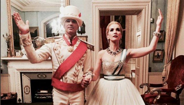 Natalia Oreiro interpretó a Evita a pedido de un magnate ruso