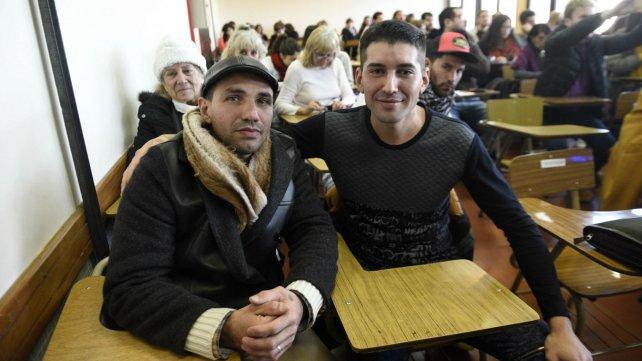 Paulo y Mauricio comenzaron a estudiar en el nivel superior de la enseñanza.