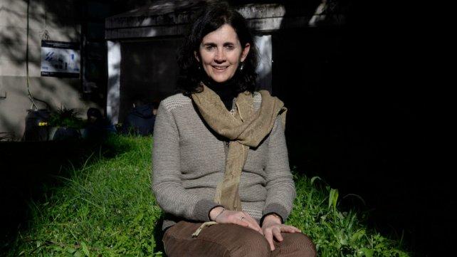 La coordinadora del postítulo docente, la profesora Ana Casali.