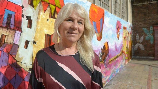 Claudia Ortega, la rectora de la escuela.