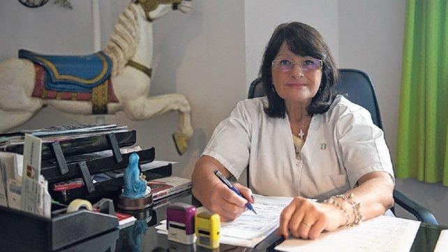 Pionera. Mónica Matus trajo de los EEUU la idea de crear una Fundación para chicos con cáncer.