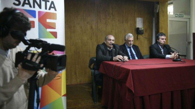 Conferencia de prensa por la expropiación de la Quinta de Funes.