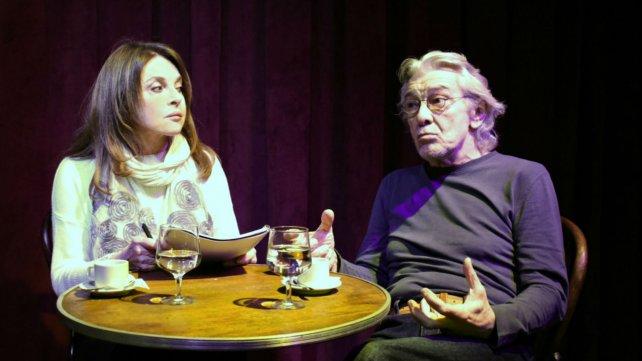 """""""Rosa y Negro"""", con Arturo Bonín y dirección de Leonor Benedetto."""