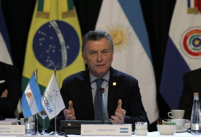 El presidente Mauricio Macri hizo una llamado a Nicolás Maduro para que llama a elecciones en Venezuela.