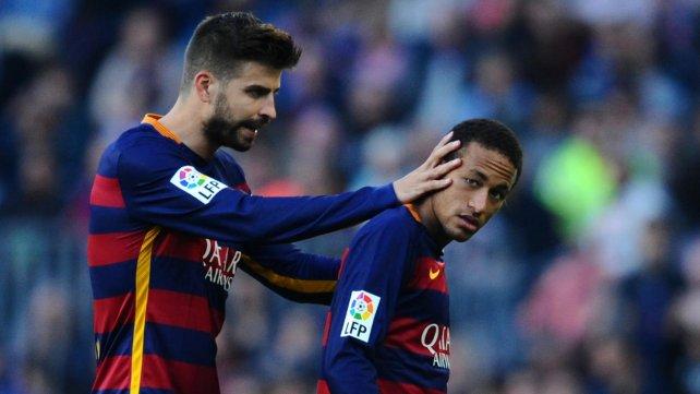 <b>Revelación.</b> Piqué se refirió a la continuidad de Neymar en el Barcelona.