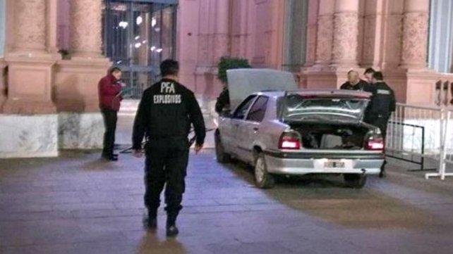 Ordenaron reforzar la seguridad en la Casa Rosada