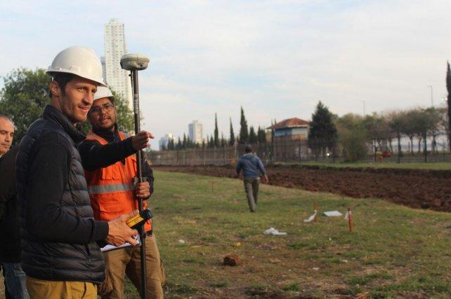 Esta mañana comenzaron los trabajos de remoción de vías en Rosario Norte.