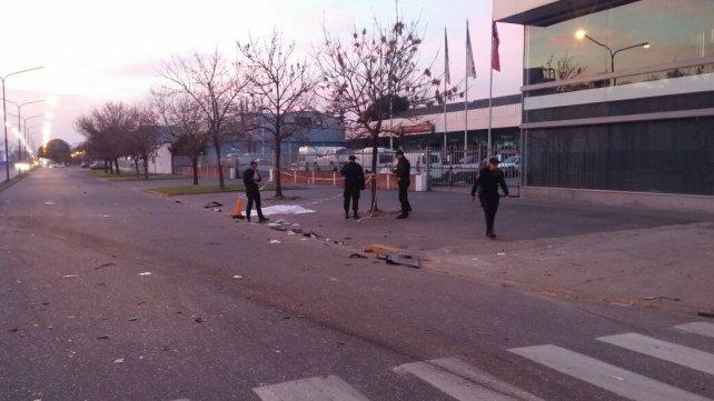 El terrible accidente ocurrió el sábado a la madrugada en 27 de Febrero y Necochea