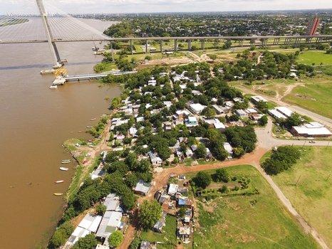 Aires de cambio. La fisonomía de la zona mejorará aún más con la avenida costanera y el parque recreativo.