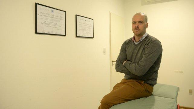 """""""No hay que fanatizarse con una línea terapéutica"""", dice Bordachar."""