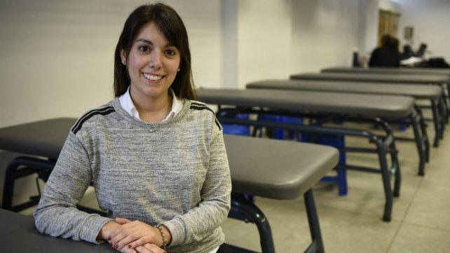 La kinesióloga Ruth Báez lucha para que la profesión sea más reconocida y mejor remunerada.