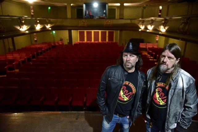 Grasso y Rebori, los creadores de Museo Rock Rosario y artífices de