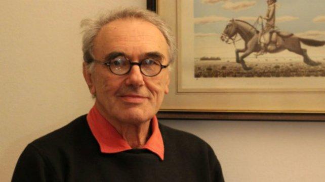 Kreimer, autor del libro sobre el punk argentino.