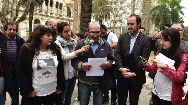 El padre de Franco Casco, en Tribunales.