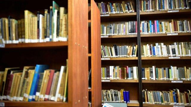Más de 17.500 libros tiene la biblioteca popular de Melincué.