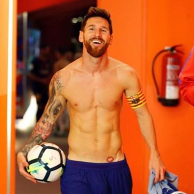 Triplete de Messi para Barcelona en el clásico de Cataluña