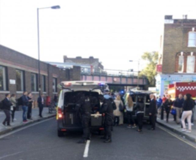 Atentado en metro de Londres deja 29 personas heridas