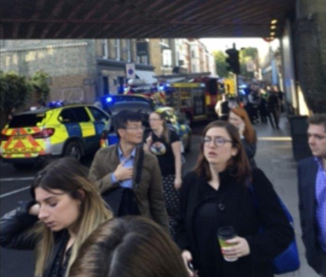 NYPD alerta tras incidente en el metro de Londres