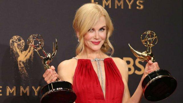 Nicole Kidman,un Emmy como actriz de Big little lies y otro por producir la miniserie.