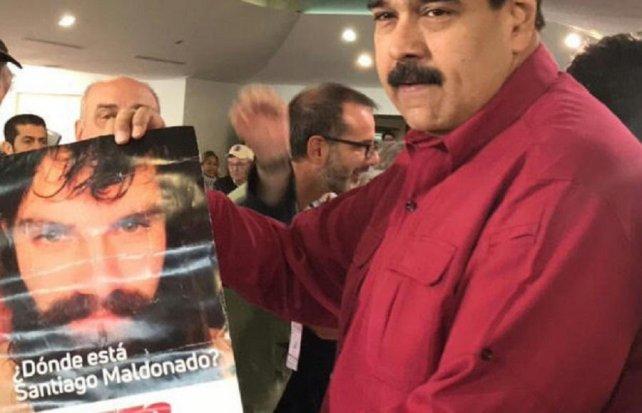Maduro dice que Trump es