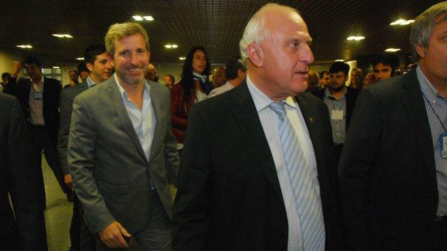 Lifschitz y Frigerio volvieron a cruzar declaraciones por los fondos coparticipables.